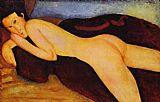 Amedeo Modigliani Nu couche de dos painting