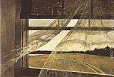 Andrew Wyeth Wind from the Sea painting