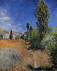 Claude Monet Landscape on the Ile Saint-Martin painting