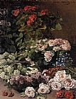 Claude Monet Spring Flowers painting