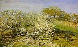Claude Monet Springtime 1 painting