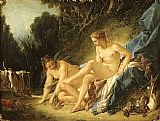 Francois Boucher Diana Resting after her Bath painting