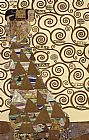 Gustav Klimt Expectation (gold foil) painting