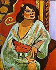 Henri Matisse The Algerian Woman painting