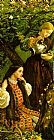 John Everett Millais Apple Blossoms Spring detail III painting