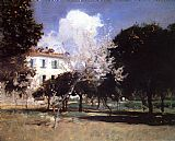 John Singer Sargent House and Garden painting
