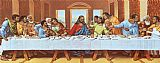 large picture of the last supper