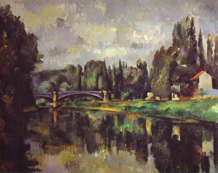 Paul Cezanne The Banks of the Marne
