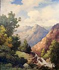 Robert Wood Limpia Creek, West Texas painting