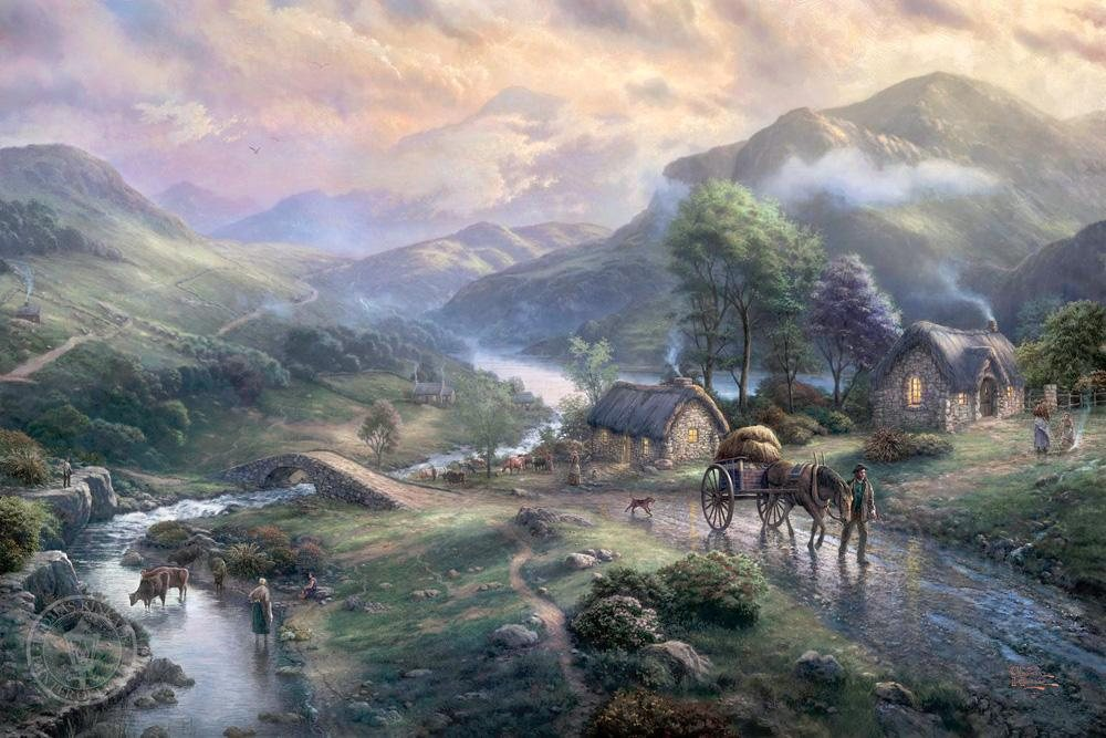 Thomas Kinkade Emerald valley