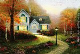 Thomas Kinkade The Blessings Of Autumn painting
