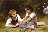 William Bouguereau Hazelnuts painting