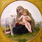 Virgin and Lamb
