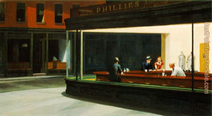 Edward Hopper Paintings for sale