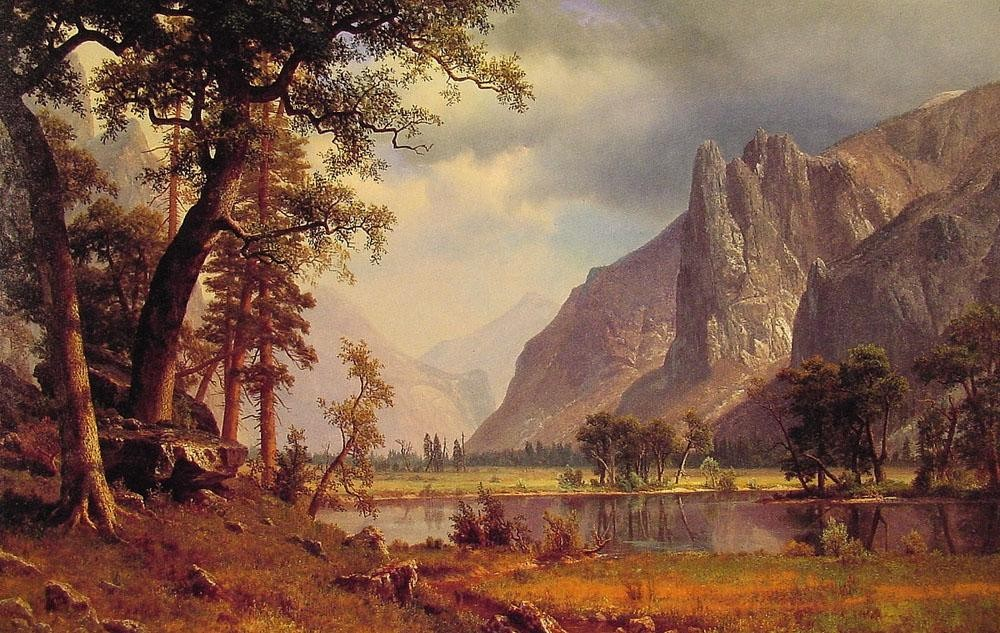 Albert Bierstadt Yosemite Valley