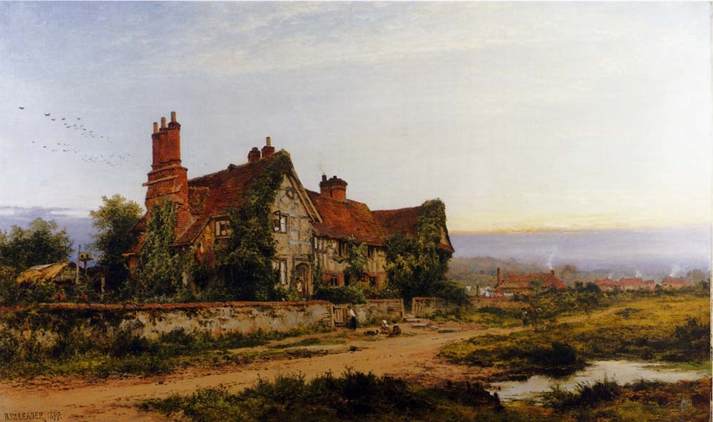 Benjamin Williams Leader An Old Surrey Home