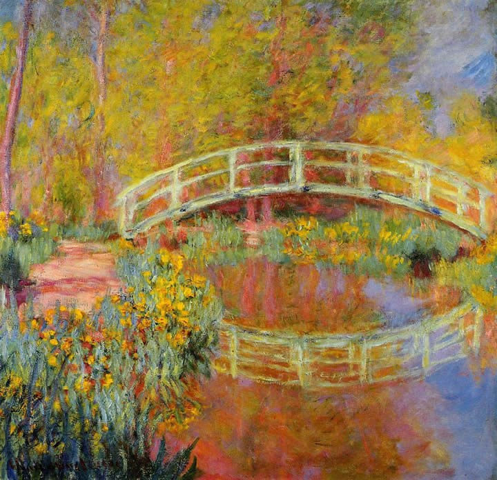 Claude Monet The Japanese Bridge 01