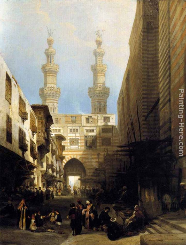David Roberts A View in Cairo