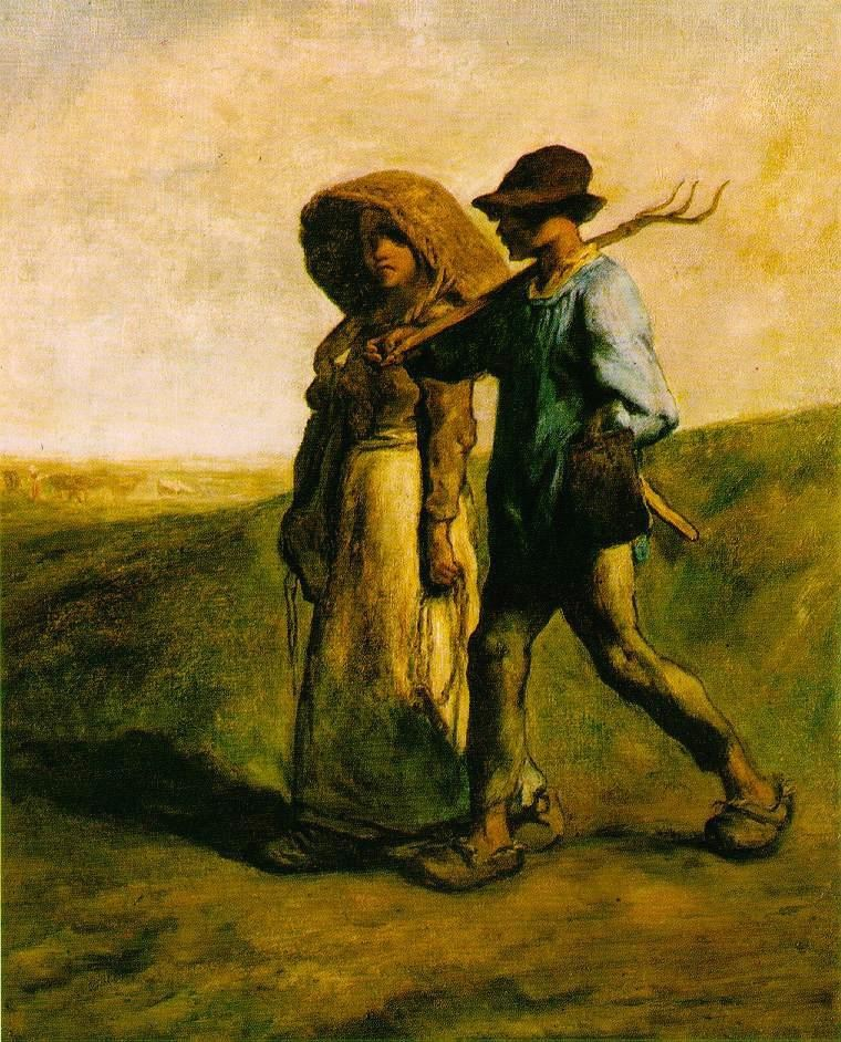 Jean Francois Millet The Walk to Work