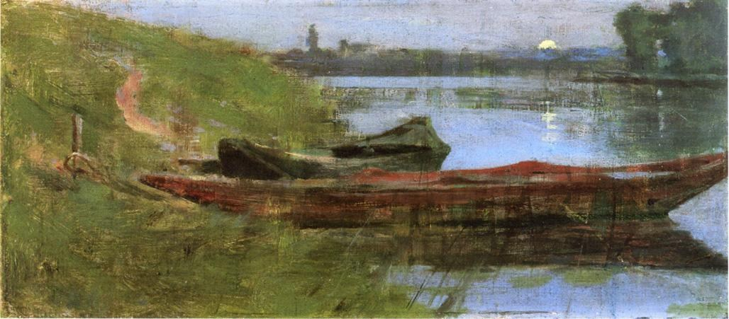 Theodore Robinson Two Boats