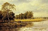 Benjamin Williams Leader On the Thames painting