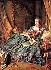 Francois Boucher The Marquise de Pompadour painting