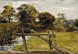 John Everett Millais View Near Hampstead painting