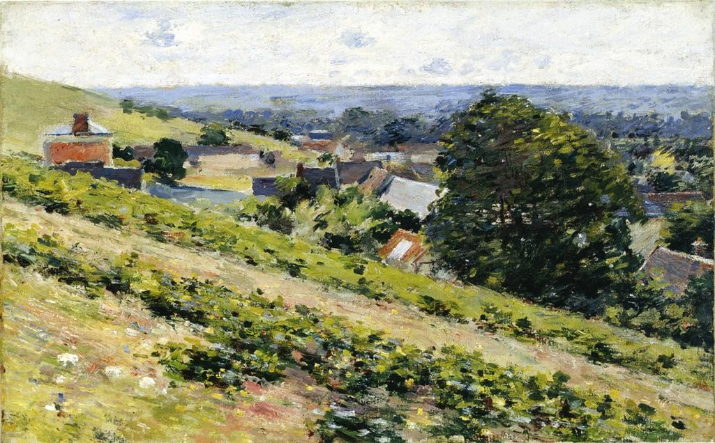 Theodore Robinson From the Hill Giverny