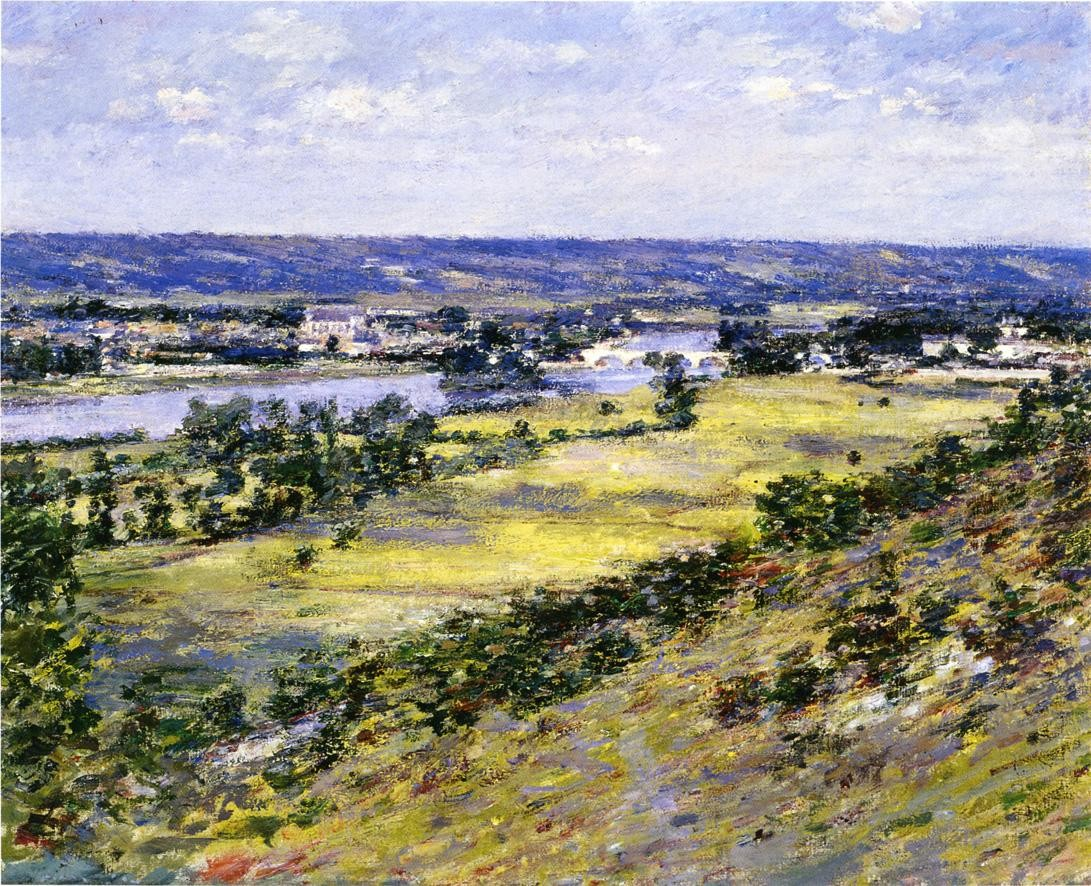 Theodore Robinson Valley of the Seine from Giverny Heights