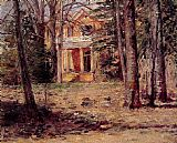 Theodore Robinson House in Virginia painting
